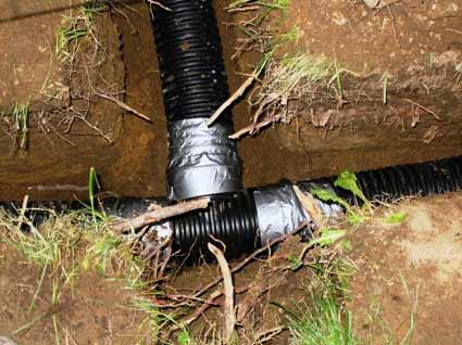 drainage services drain tile