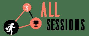 Logo AllSessions, la solution sportive pour la Qualité de Vie au Travail