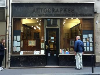 Autographes Shop