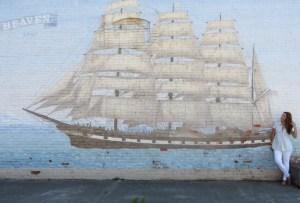 Tree of Heaven mural in Port Townsend, Washington