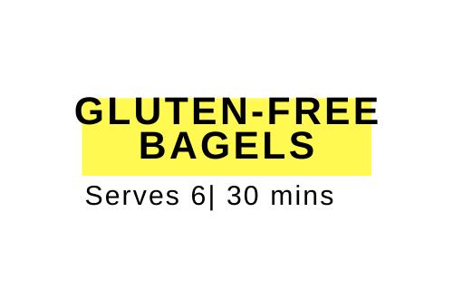 gluten-free bagel recipe
