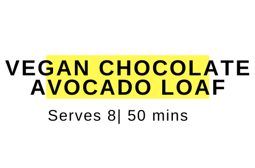 chocolate avocado loaf