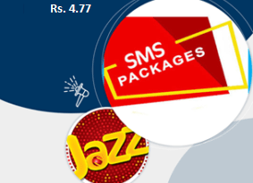 jazz daily sms package