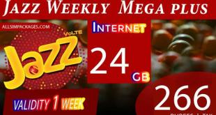 JAZZ WEEKLY MEGA PLUS