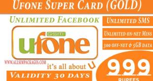Ufone Super Card Gold