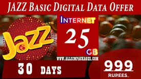 JAZZ Basic DIGITAL DATA OFFER