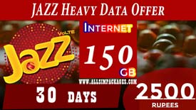 JAZZ HEAVY DATA OFFER
