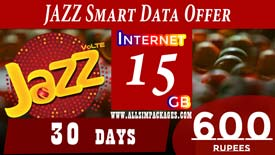 JAZZ SMART DATA OFFER
