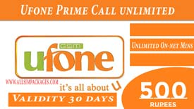 UFONE PrimeCall Unlimited