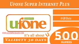 UFONE SUPER INTERNET PLUS