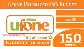 UFONE Unlimited SMS Bucket