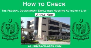 How to Check the Federal Government Employees Housing Authority List