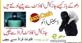 how to protect jazzcash and easypaisa accounts