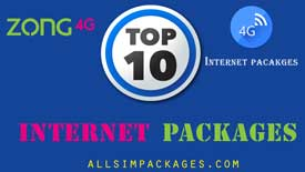 Top 10 Zong internet Packages