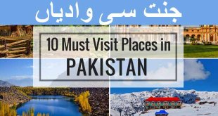 Must-Visit places of Pakistan