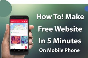 how to make a website from mobile