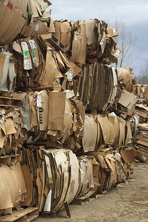 cardboard recycling page