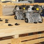 Automotive industry wood pallets