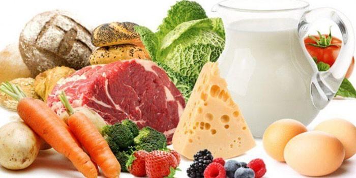 المنتجات التي تحتوي على البروتين