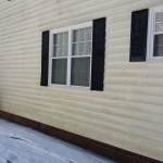 House Siding that Needs Cleaning