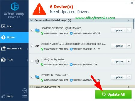 Driver Easy Pro 5.6.15 Crack With Keygen Patch 2021 [Lifetime]