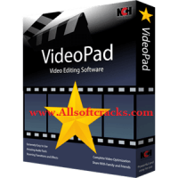 VideoPad Video Editor Pro 10.00 Crack Plus Activation Code Download
