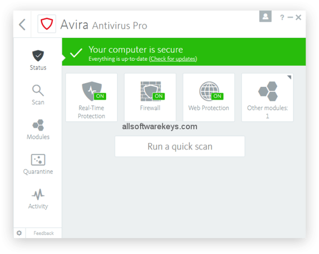 Avira Antivirus Pro Download (2019 Latest) with keygen for Windows 10, 8, 7