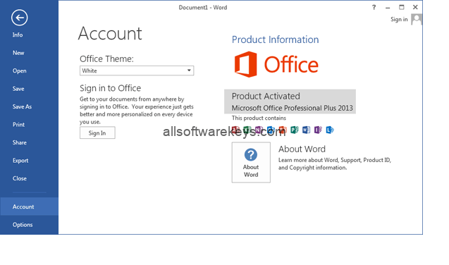 Microsoft Office 365 Activator