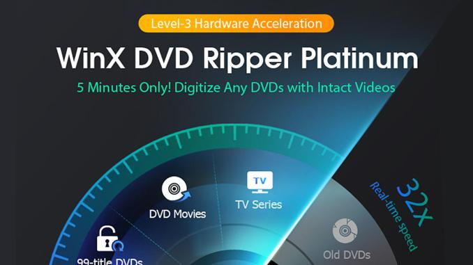WinX DVD Ripper Platinum 2020 Crack + Key Free Download {Upgraded}