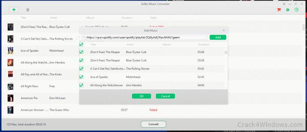 Sidify Music Converter Crack With Keygen Full