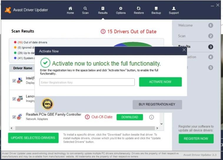 Avast Driver Updater 2.5.9 Crack