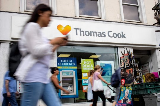 thomas cook holidaymakers