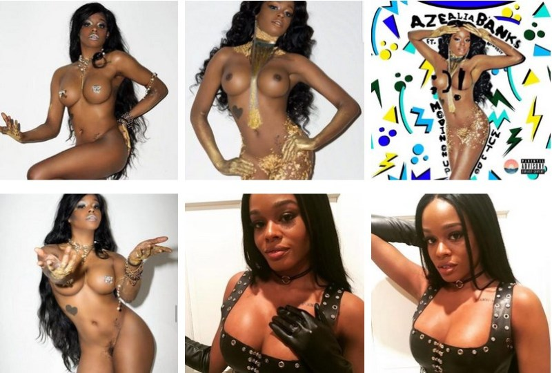 Azealia Banks Nude
