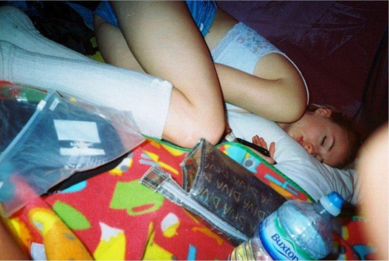 sleeping celebs