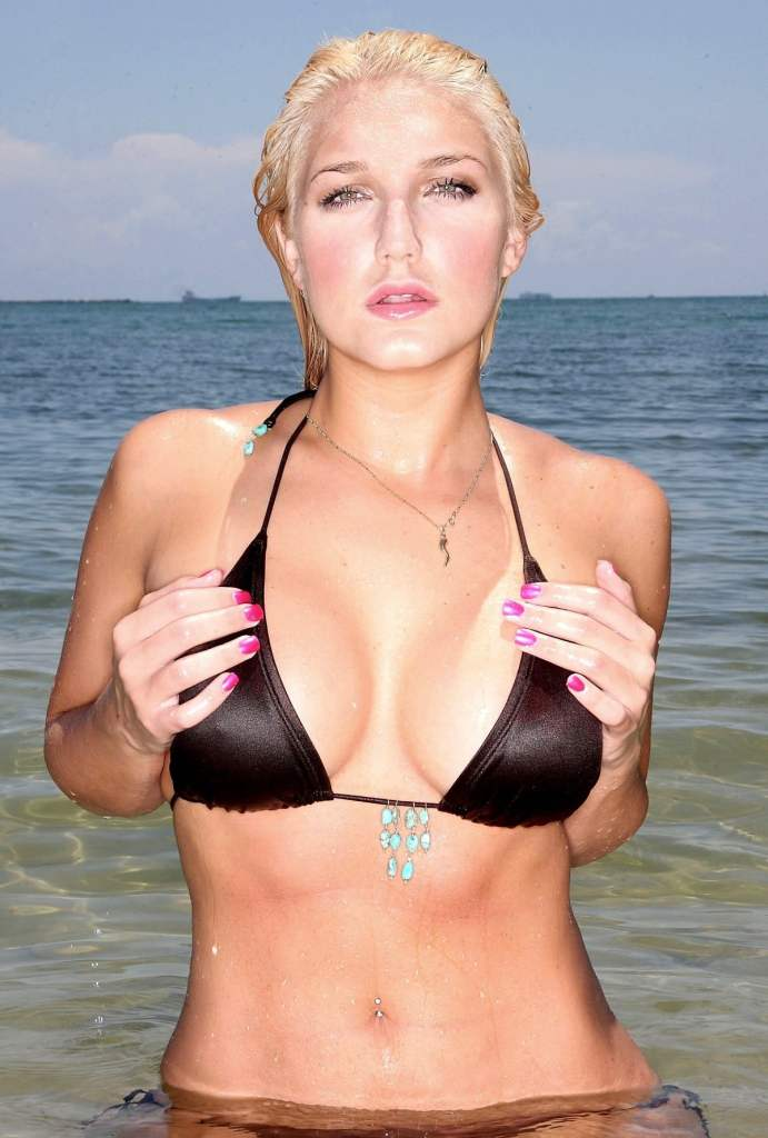 brooke hogan sexy bra photo