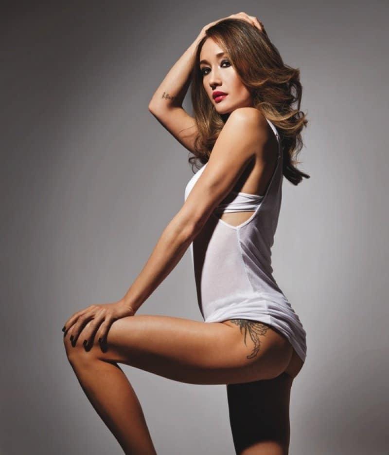 Maggie Q underwear photos