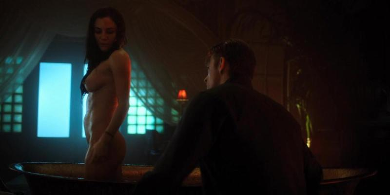 Martha Higareda Nude Scene -  Altered Carbon