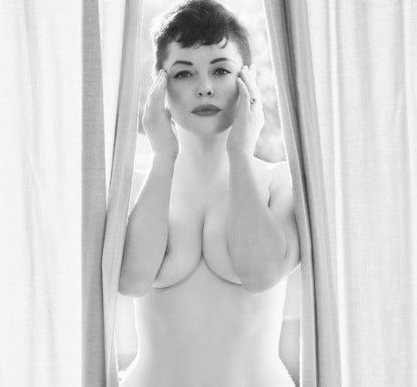 Rose McGowan Nude For Flaunt Magazine