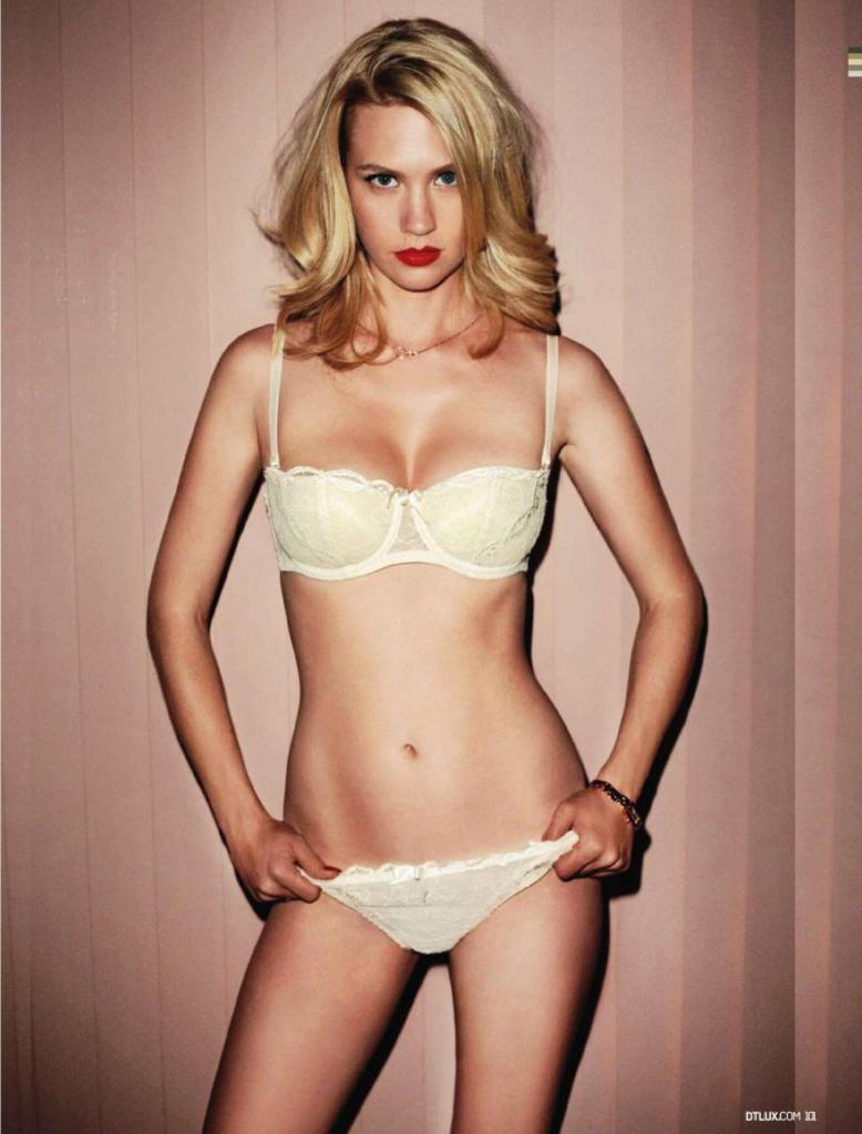January Jones nude sexy photos