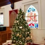 All Souls Church Christmas tree