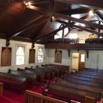 All Souls Church sanctuary view from above