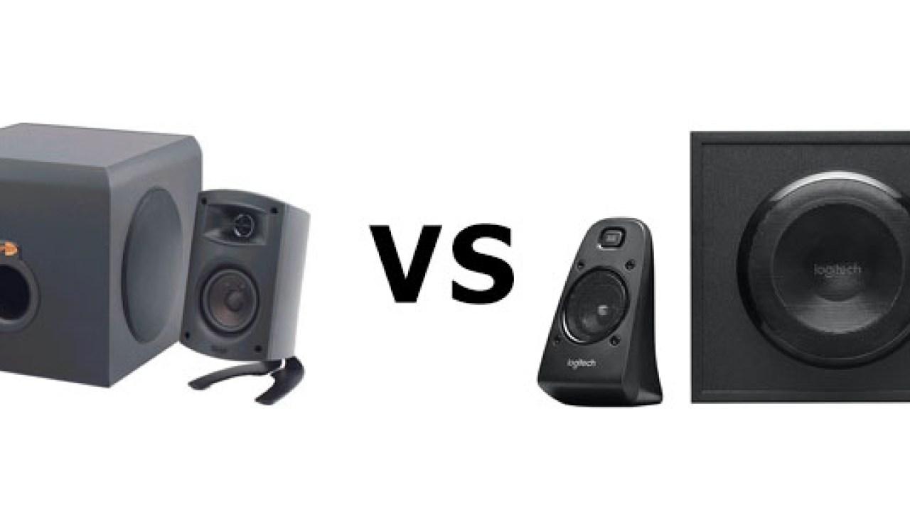 Best Pc Speakers 2020.Klipsch Promedia 2 1 Vs Logitech Z623 2020 Which Is Best
