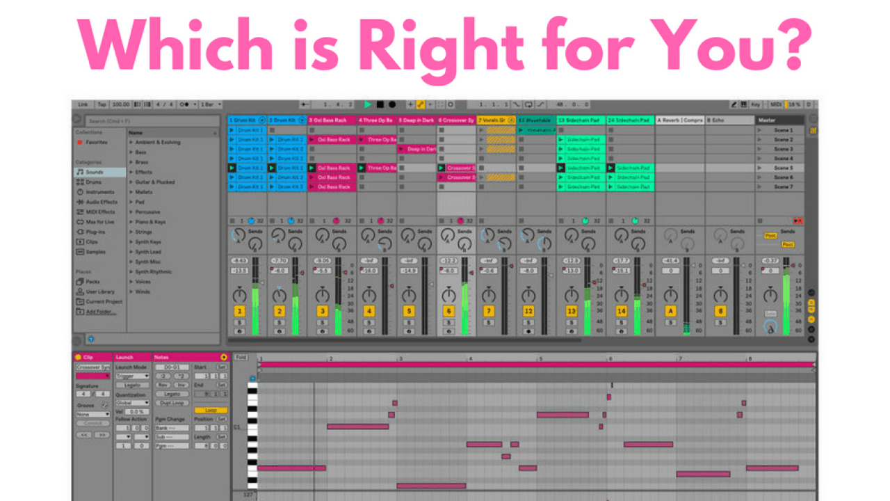 Ableton vs  FL Studio - Which is Right for You? - AllSoundLab