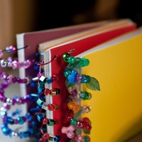 Beaded Notebooks