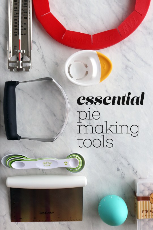 The Essential Tools You Need to Make a Pie
