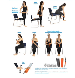 3-in-1 Myofascial Massage Roller