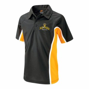 Hard wearing Poly Cotton Polo Shirts With embroidered logo