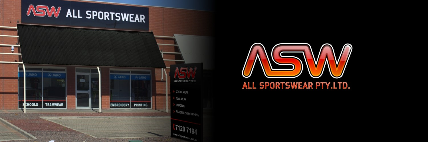 All Sportwear for Quality Customised School and Sportswear | U5/400 Grand Junction Road Mansfield Park SA 5013.