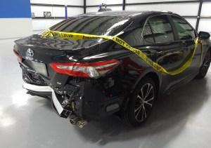 Toyota rear view