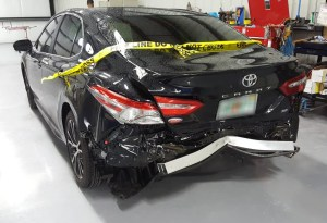 Toyota rear view